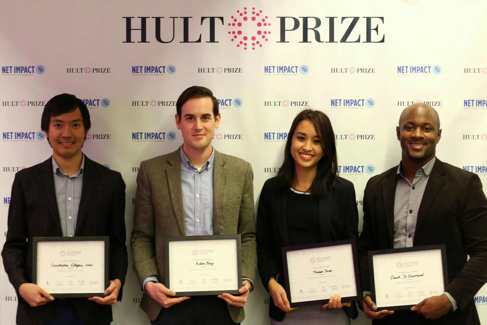 Hult Prize team members from the Rotman School